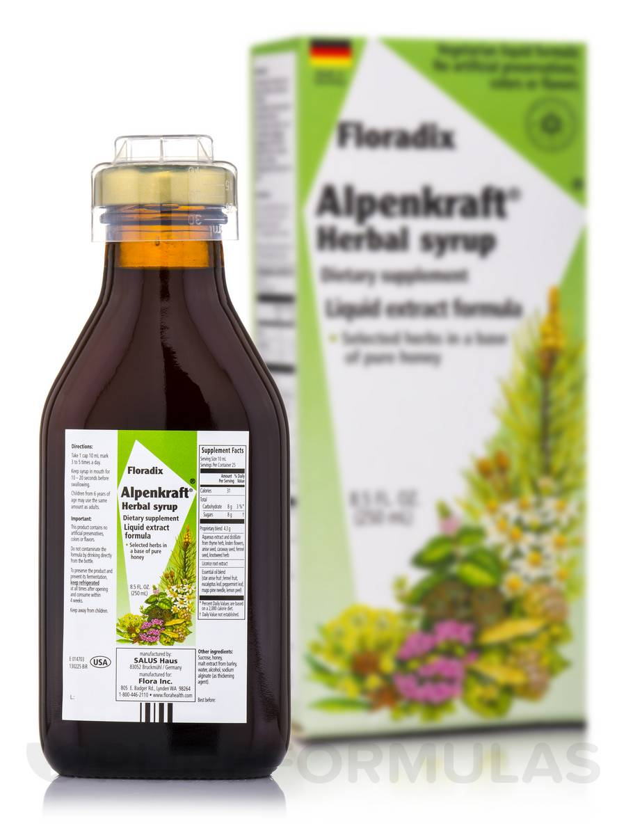 Alpenkraft® Herbal Syrup - 8.5 fl. oz (250 ml)
