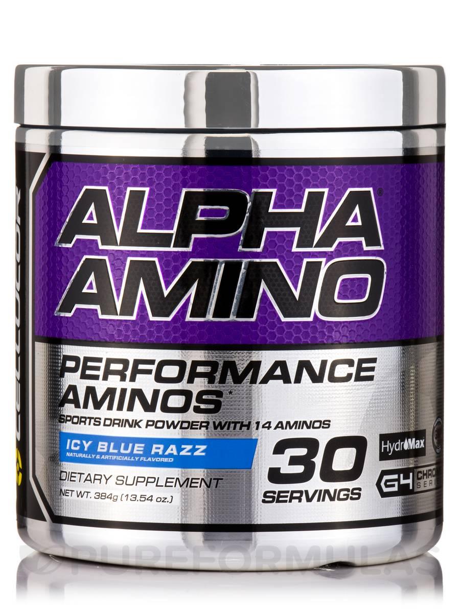 Alpha Amino Blue Razzpberry - 30 Servings (13.3 oz / 366 Grams)