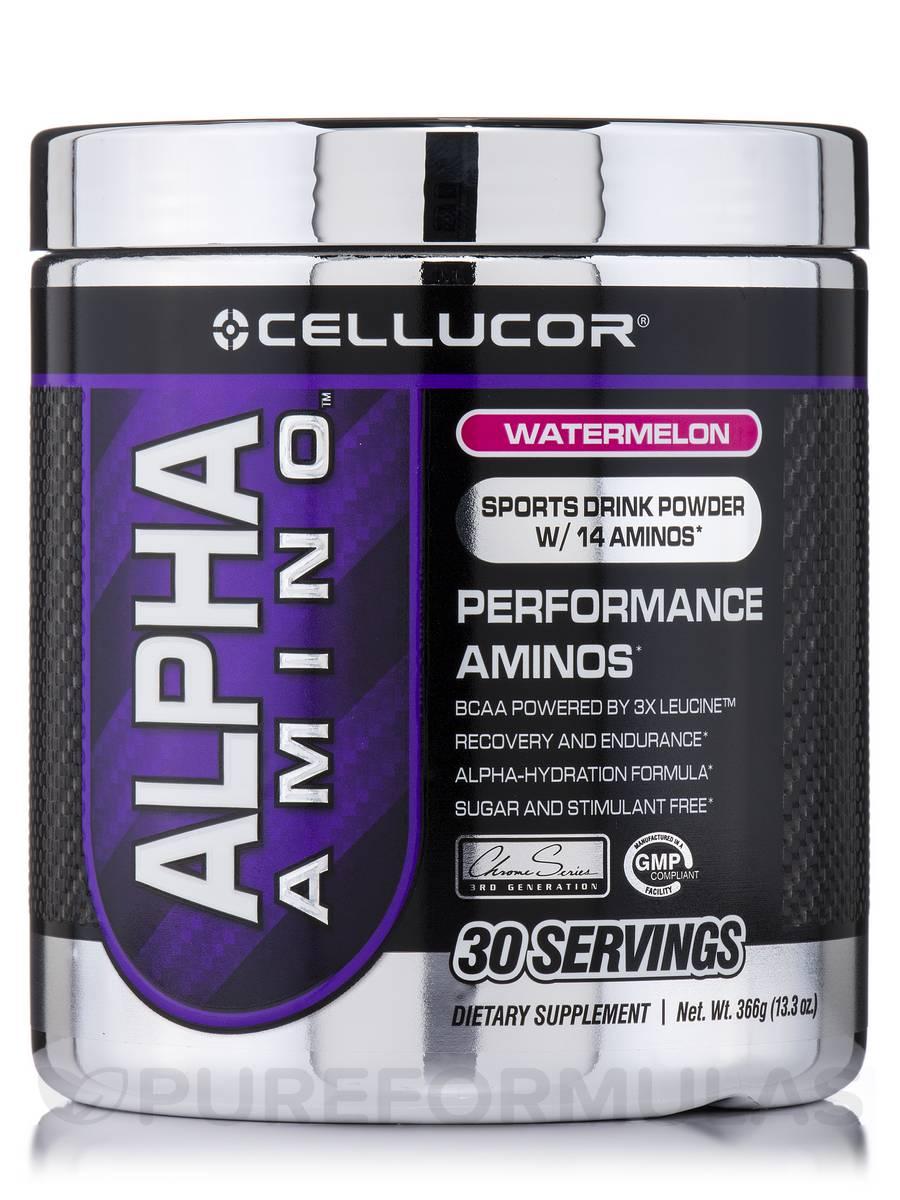 Alpha Amino Watermelon - 30 Servings (13.3 oz / 366 Grams)
