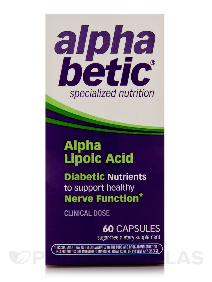 alpha betic® Alpha Lipoic Acid - 60 Capsules