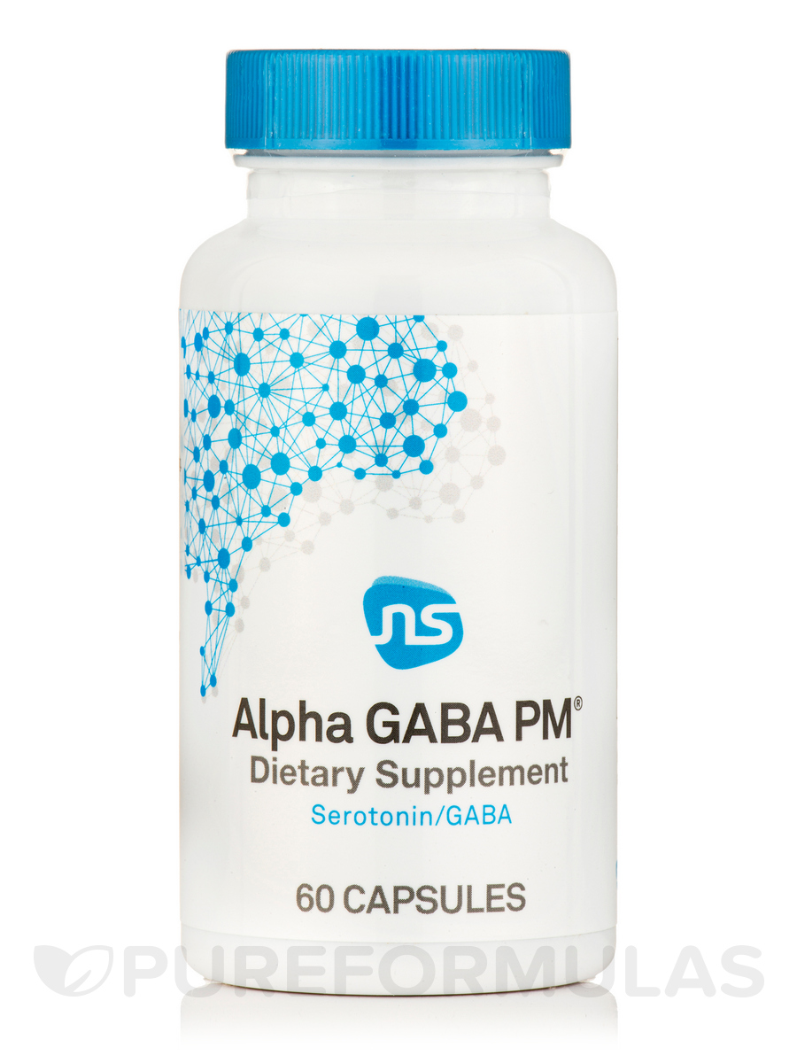 Alpha GABA PM - 60 Capsules