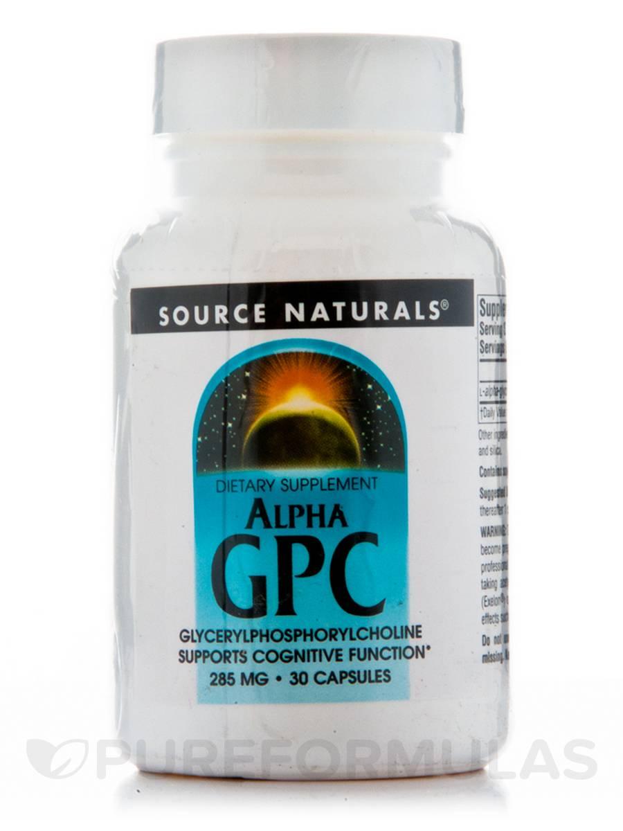 Alpha GPC - 30 Capsules