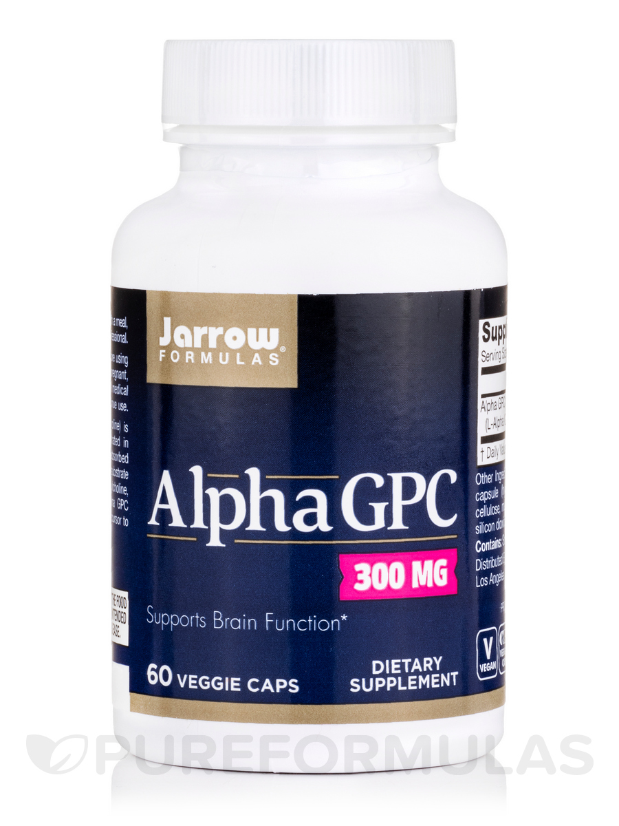 Alpha GPC 300 mg - 60 Veggie Capsules