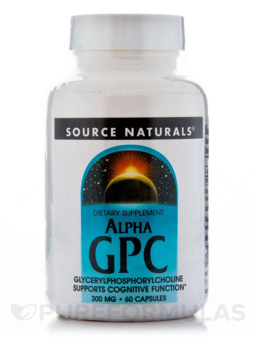 Alpha Gpc Caps - 60 Capsules