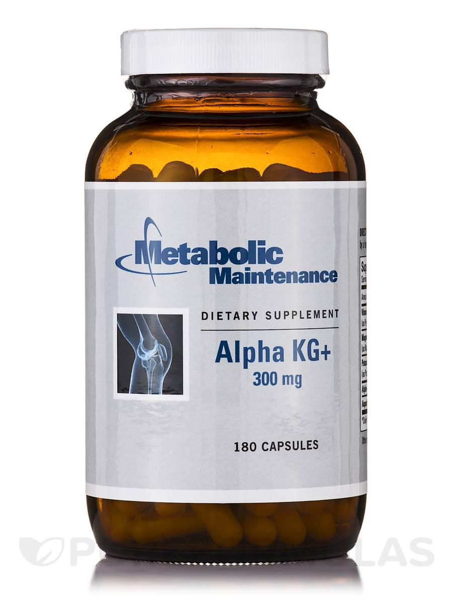 Alpha KG+ 300 mg - 180 Capsules