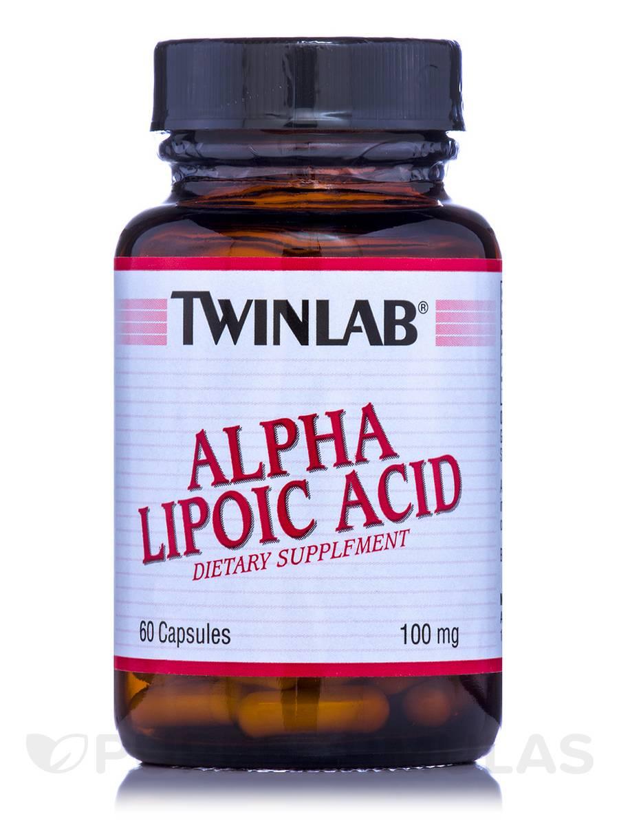 Alpha Lipoic Acid 100 mg - 60 Capsules