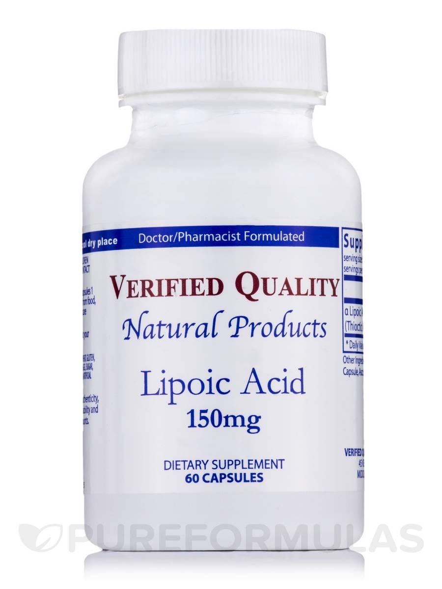 Lipoic Acid 150 mg - 60 Capsules