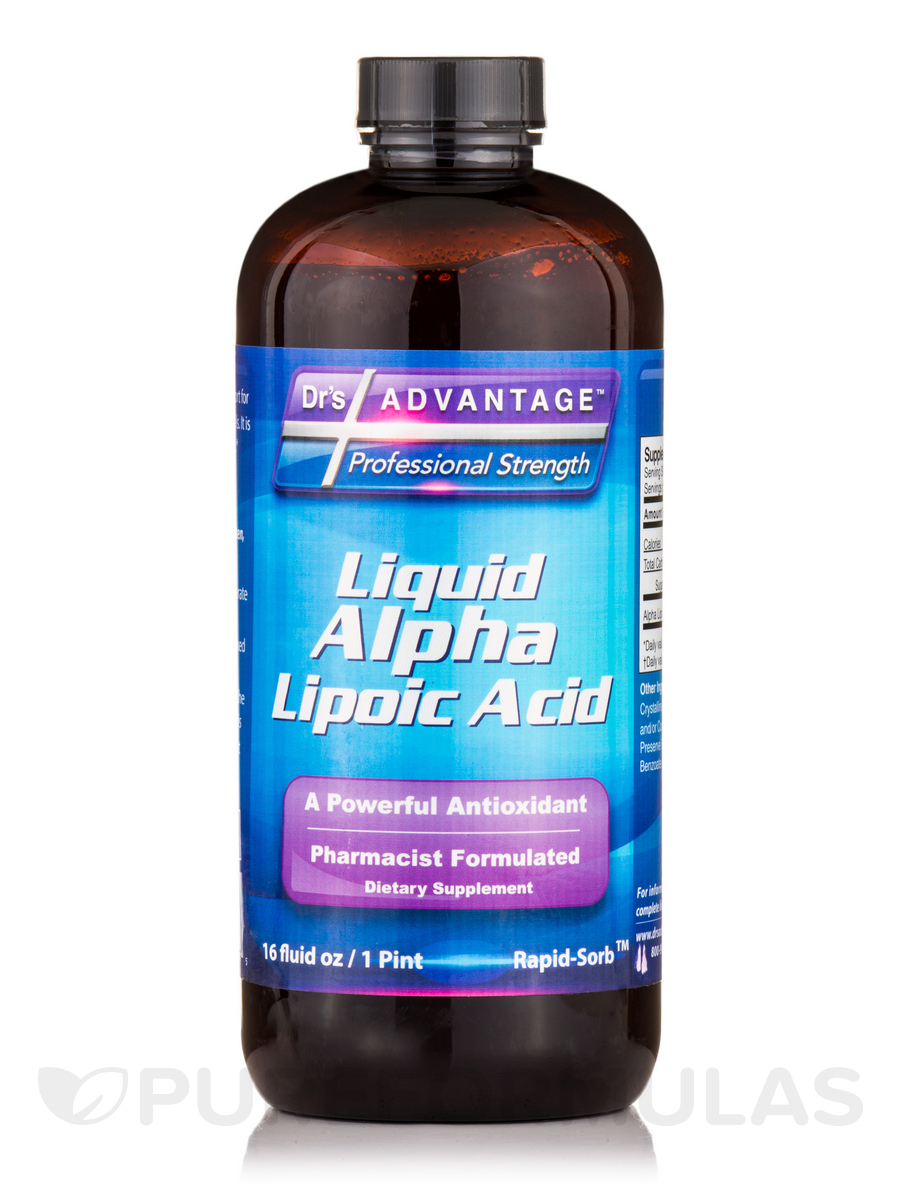 Liquid Alpha Lipoic Acid - 16 fl. oz (1 Pint)