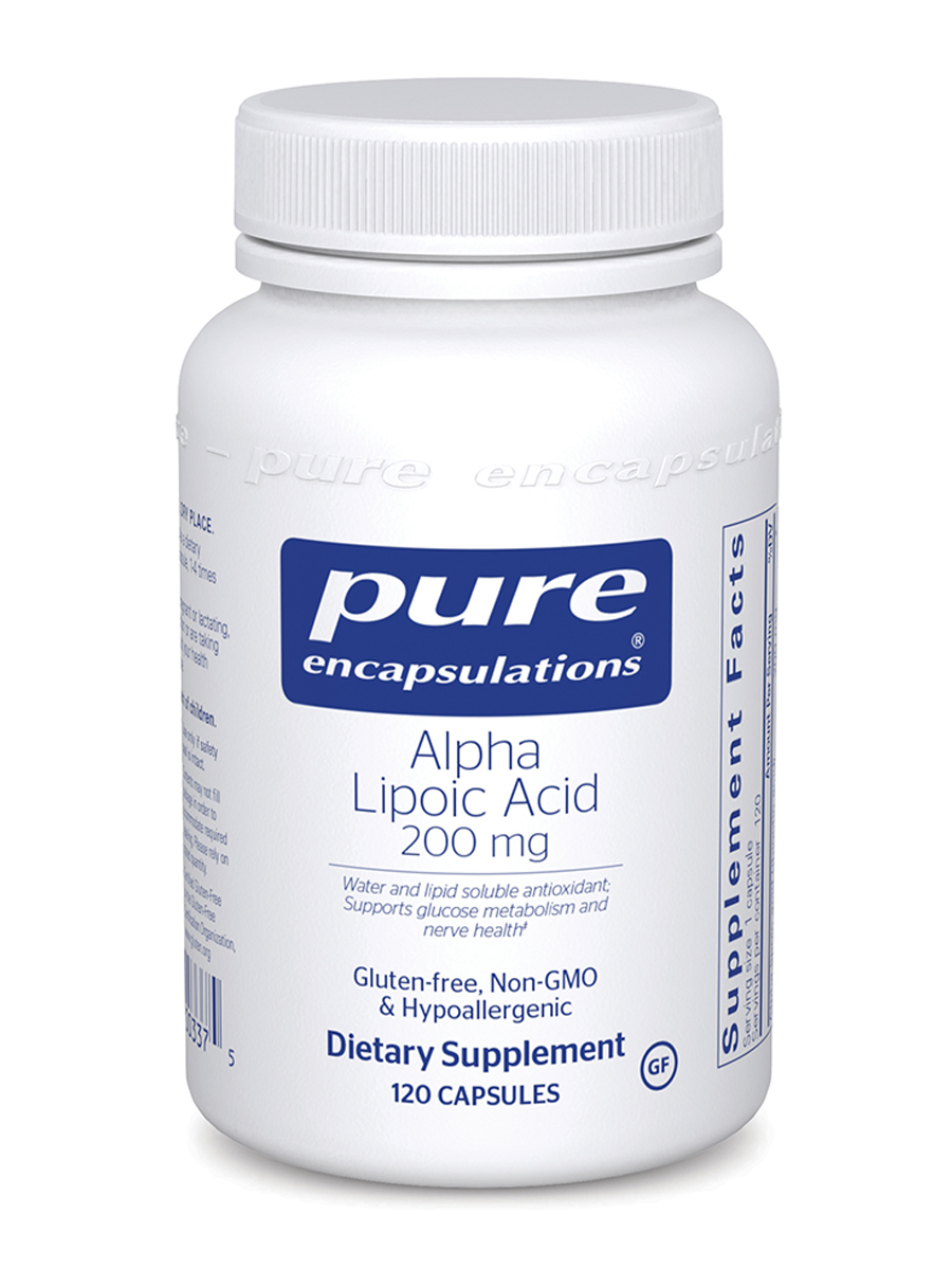 Alpha Lipoic Acid 200 mg - 120 Capsules