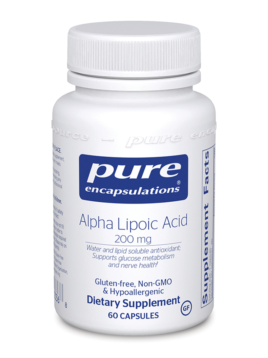 Alpha Lipoic Acid 200 mg - 60 Capsules