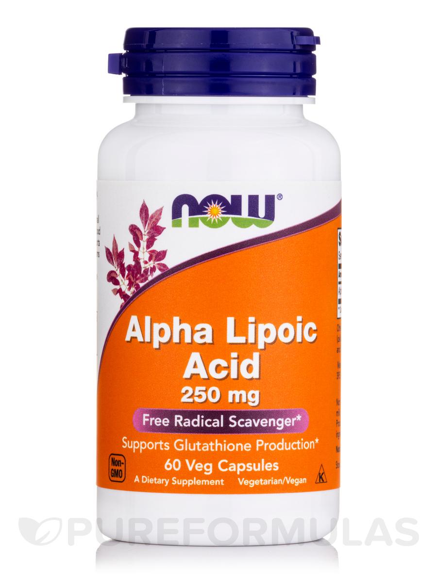 Alpha Lipoic Acid 250 mg - 60 Veg Capsules