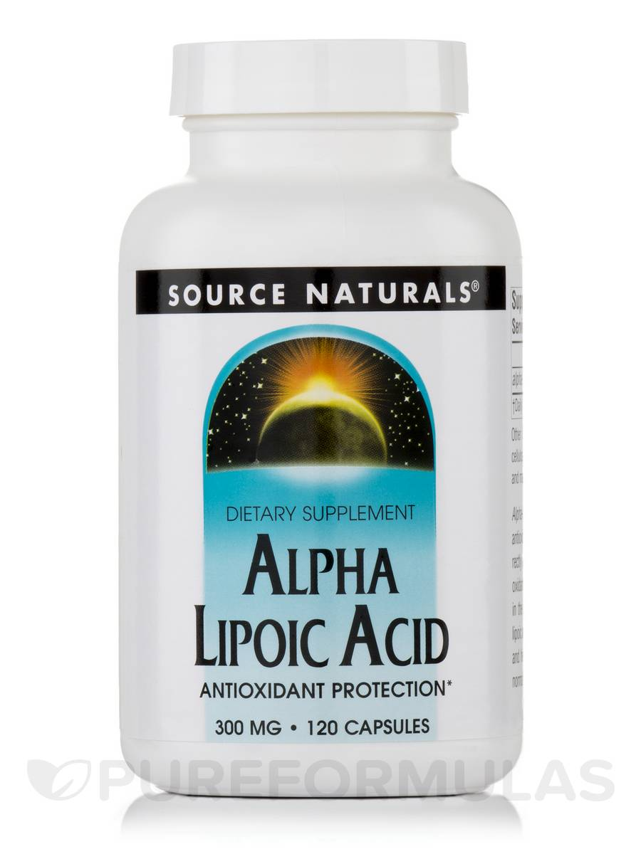 Alpha Lipoic Acid 300 mg - 120 Capsules