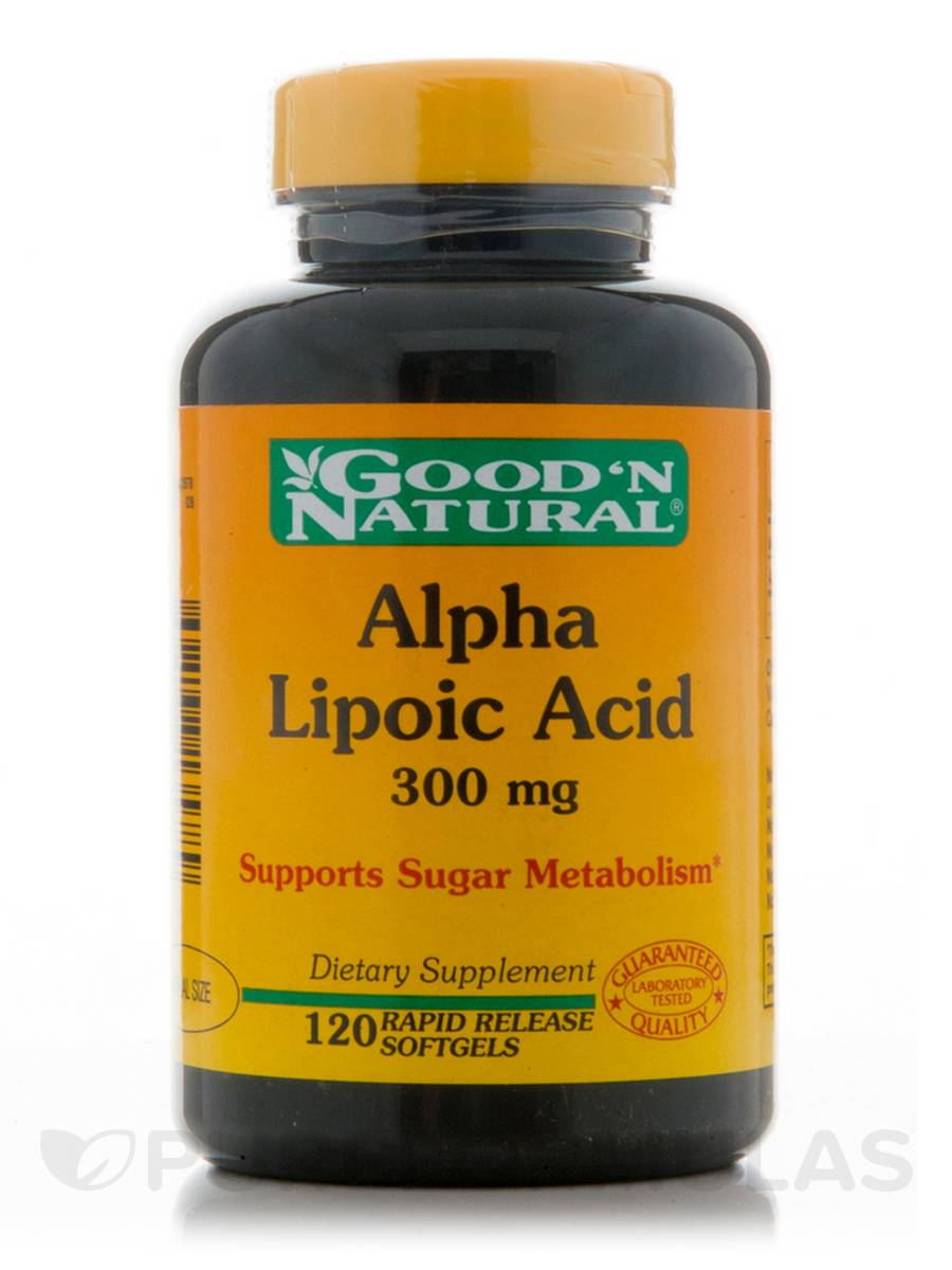 Alpha Lipoic Acid 300 mg - 120 Softgels