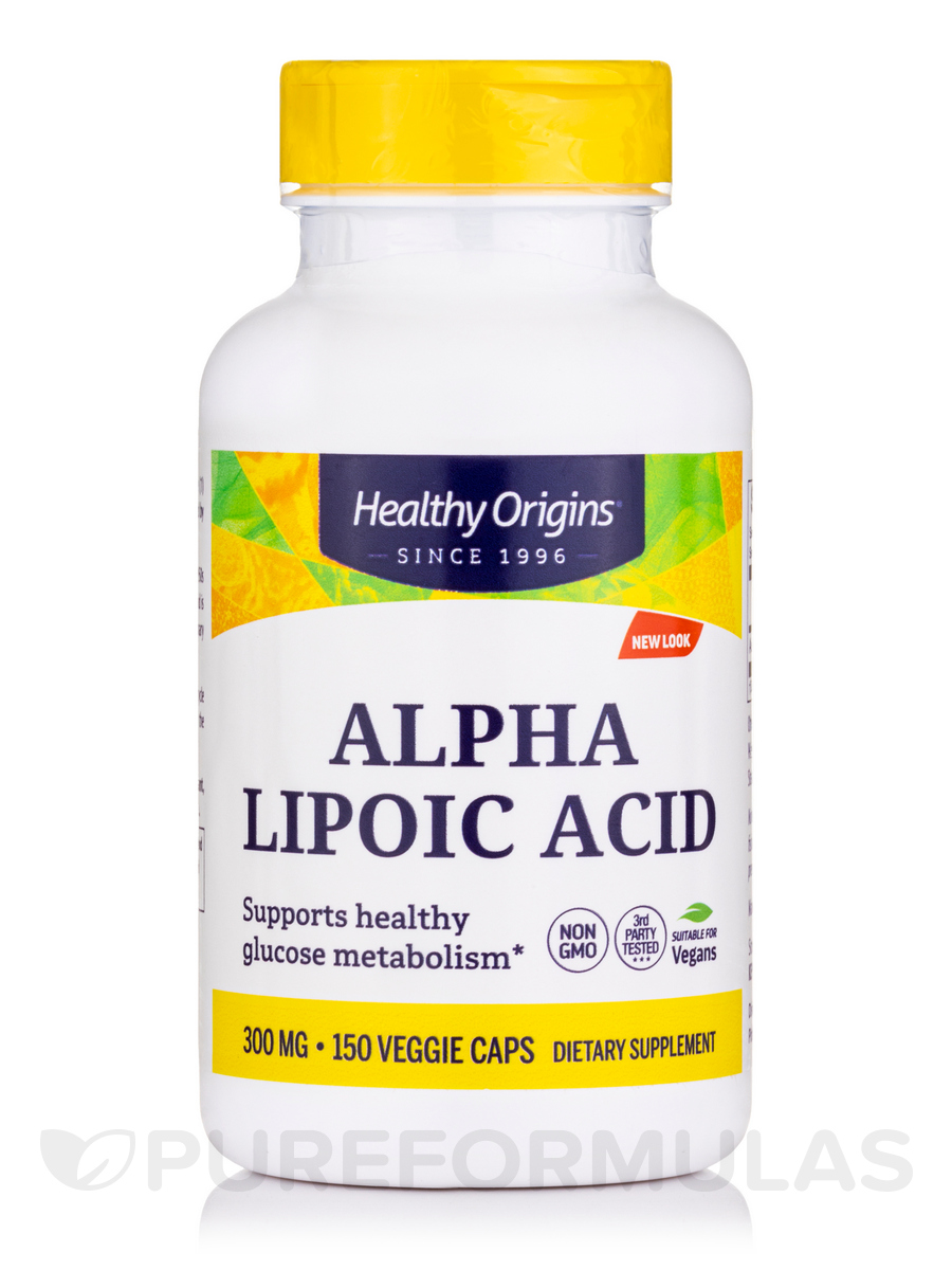 Alpha Lipoic Acid 300 mg - 150 Capsules