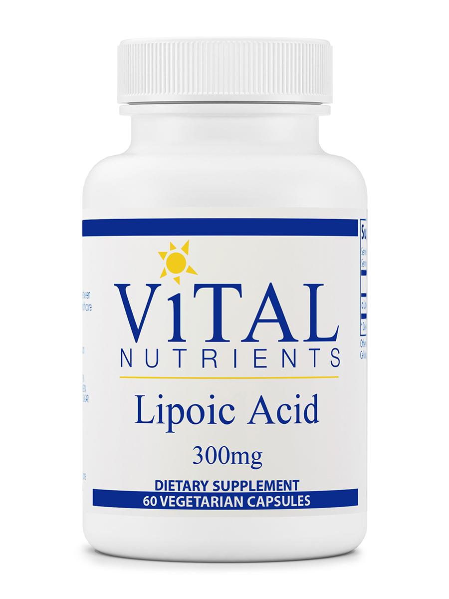 Lipoic Acid 300 mg - 60 Capsules