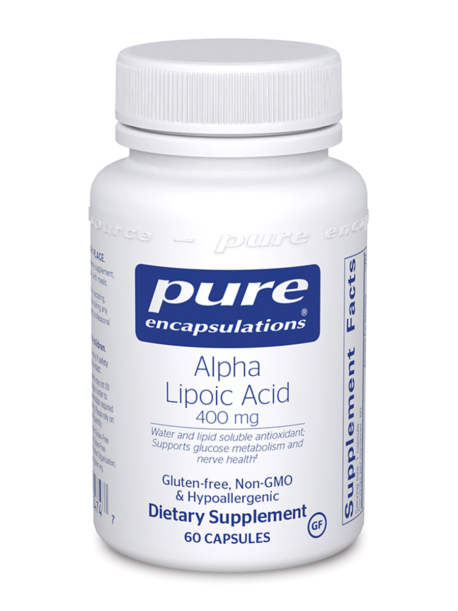 Alpha Lipoic Acid 400 mg - 60 Capsules