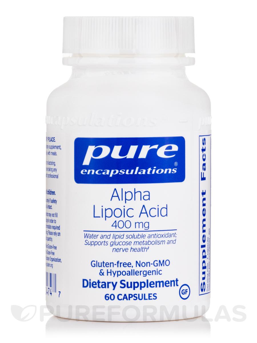 Alpha Lipoic Acid 400 mg - 60 Capsules