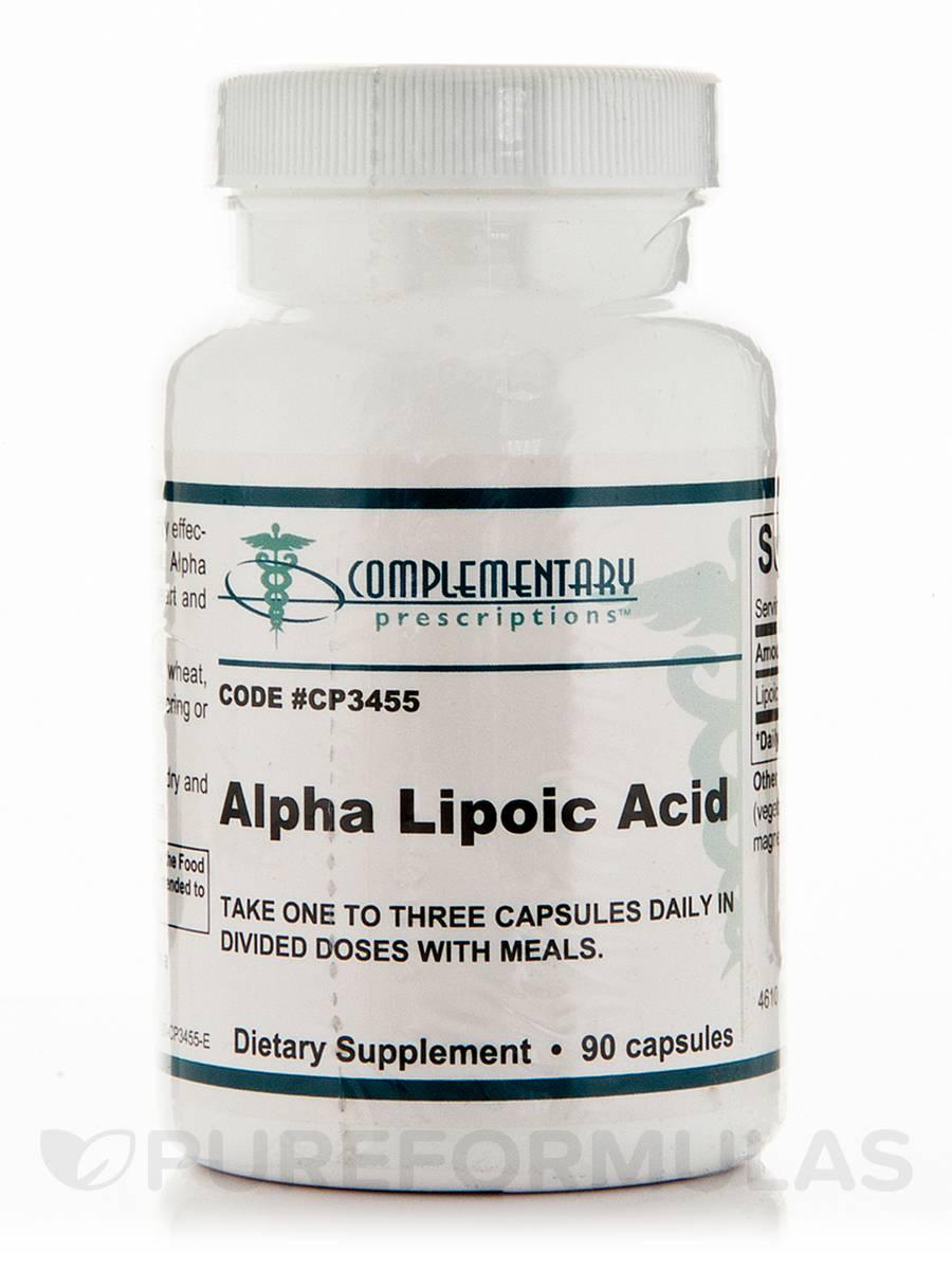 Alpha Lipoic Acid - 90 Capsules