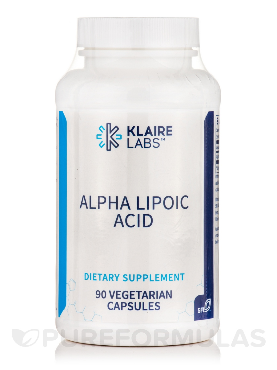 Alpha Lipoic Acid 500 mg - 90 Vegetarian Capsules