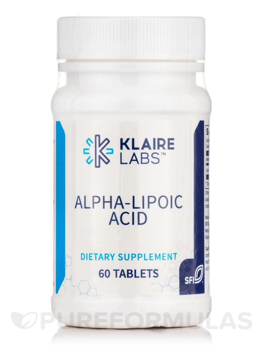 Alpha-Lipoic Acid 100 mg - 60 Tablets
