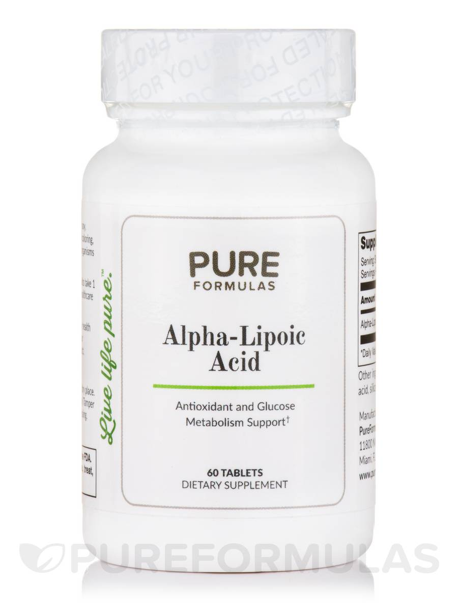 Alpha-Lipoic Acid - 60 Tablets