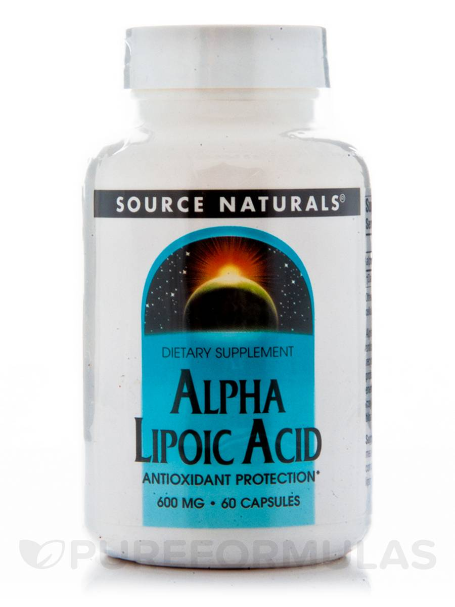 Alpha Lipoic Acid 600 mg - 60 Capsules