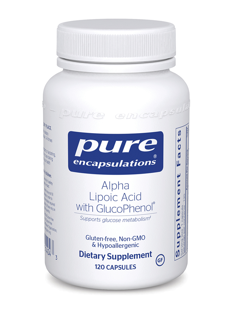 Alpha Lipoic Acid with GlucoPhenol® - 120 Capsules