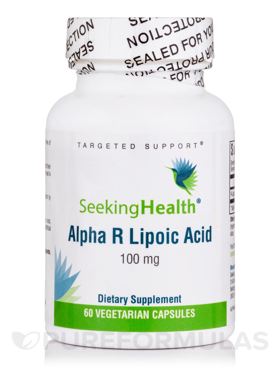 Alpha R Lipoic Acid 100 mg - 60 Vegetarian Capsules