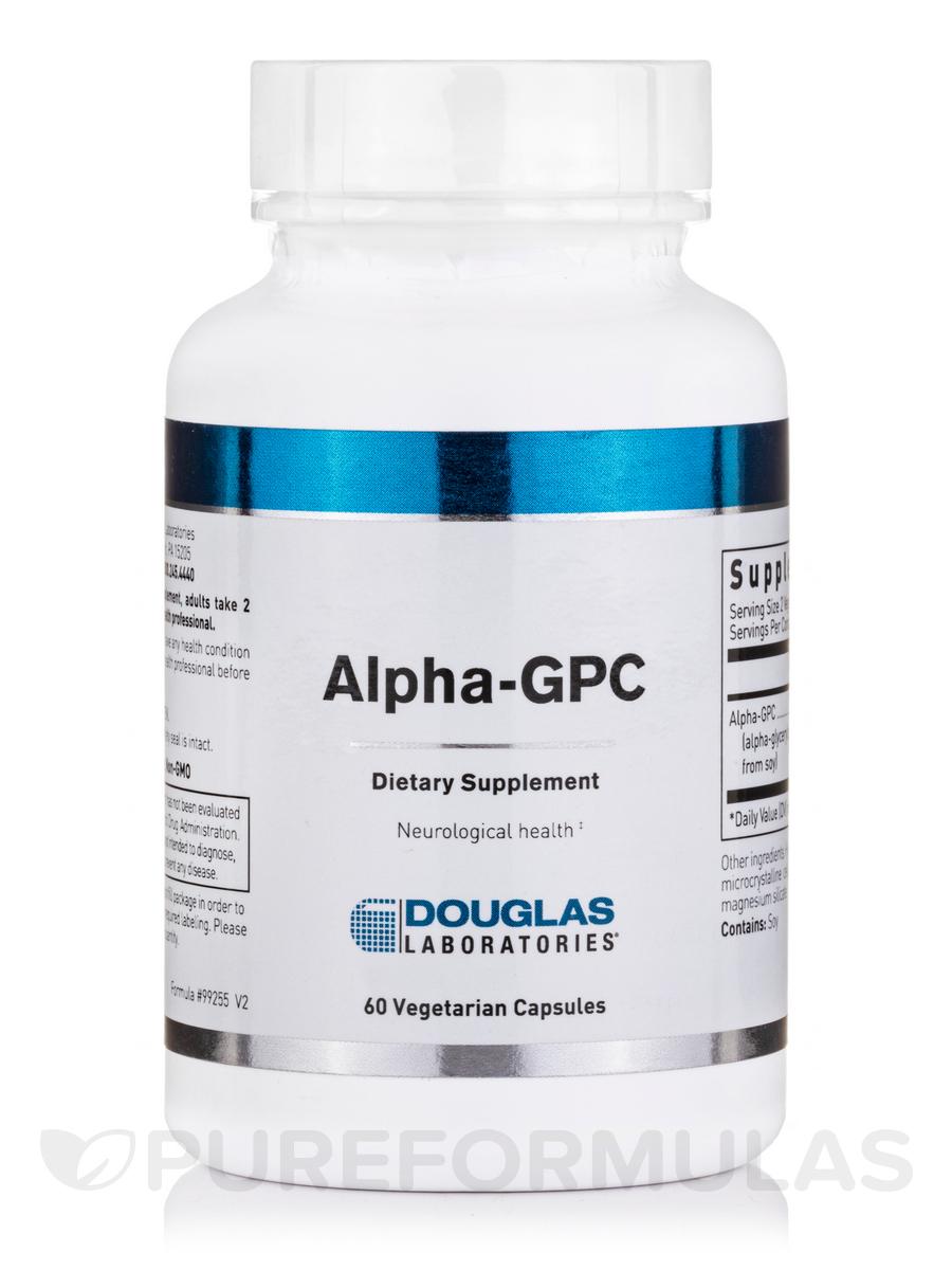 Alpha-GPC - 60 Vegetarian Capsules