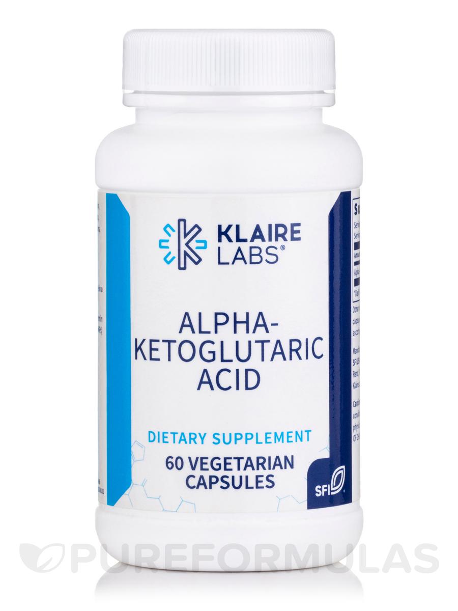 Alpha-Ketoglutaric Acid 300 mg - 60 Vegetarian Capsules