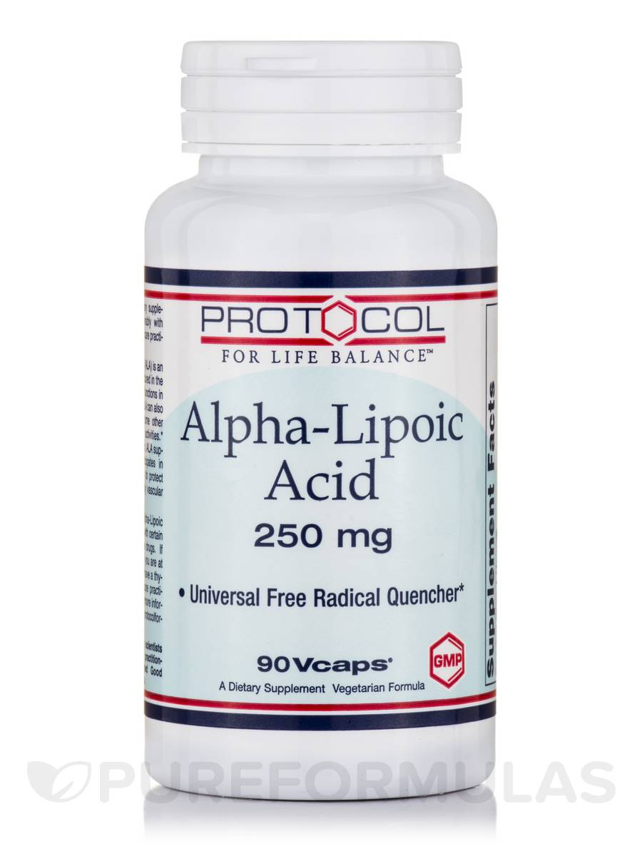 Alpha-Lipoic Acid 250 mg - 90 Vcaps®
