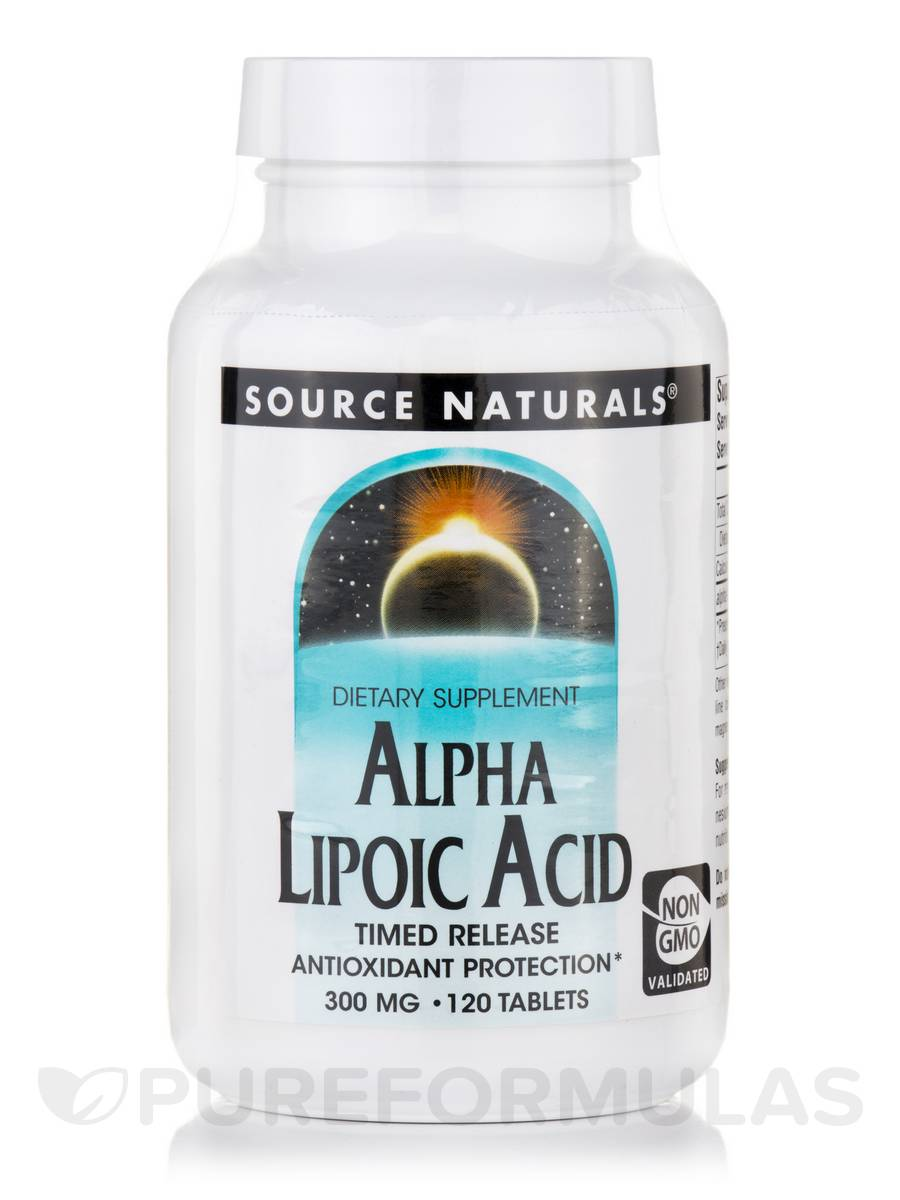 Alpha-Lipoic Acid 300 mg T/R - 120 Tablets