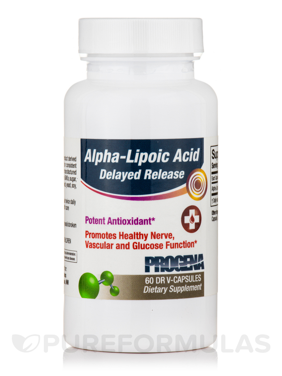 Alpha-Lipoic Acid Sustained Release 200 mg - 60 Tablets