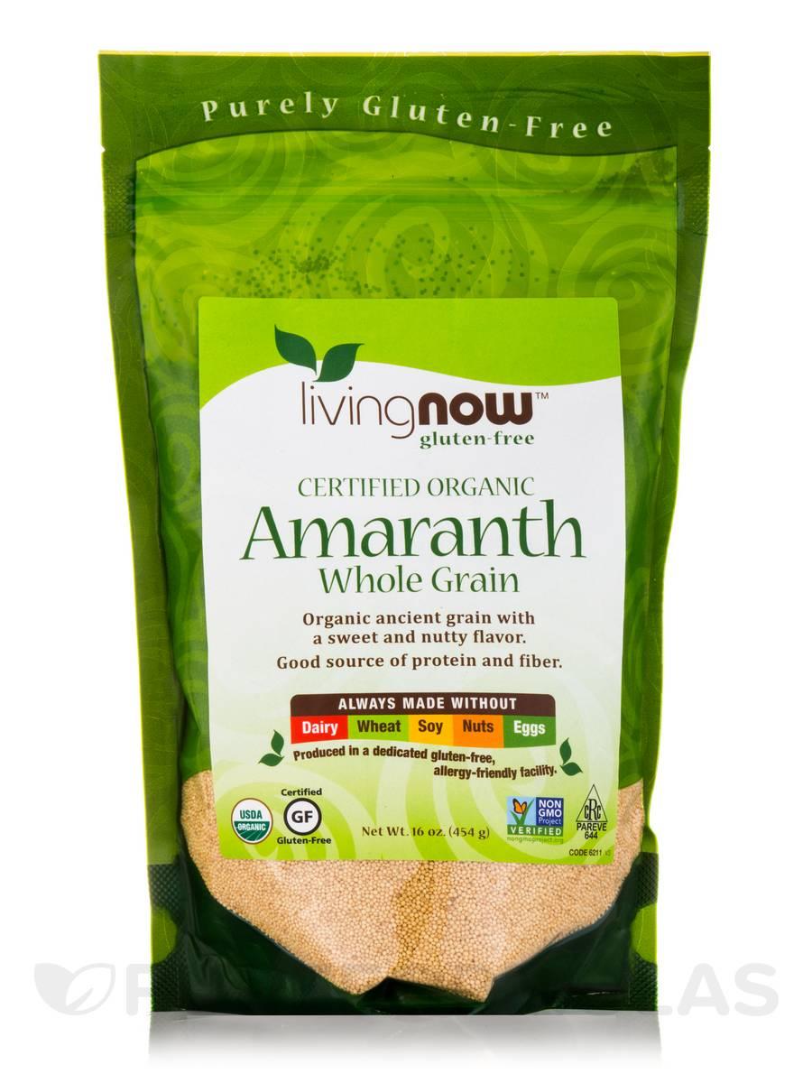 LivingNow™ Amaranth Grain (Organic) - 16 oz (454 Grams)