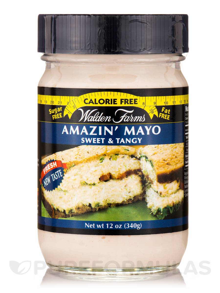 Amazin' Mayo (Sweet and Tangy) Jar - 12 oz (340 Grams)