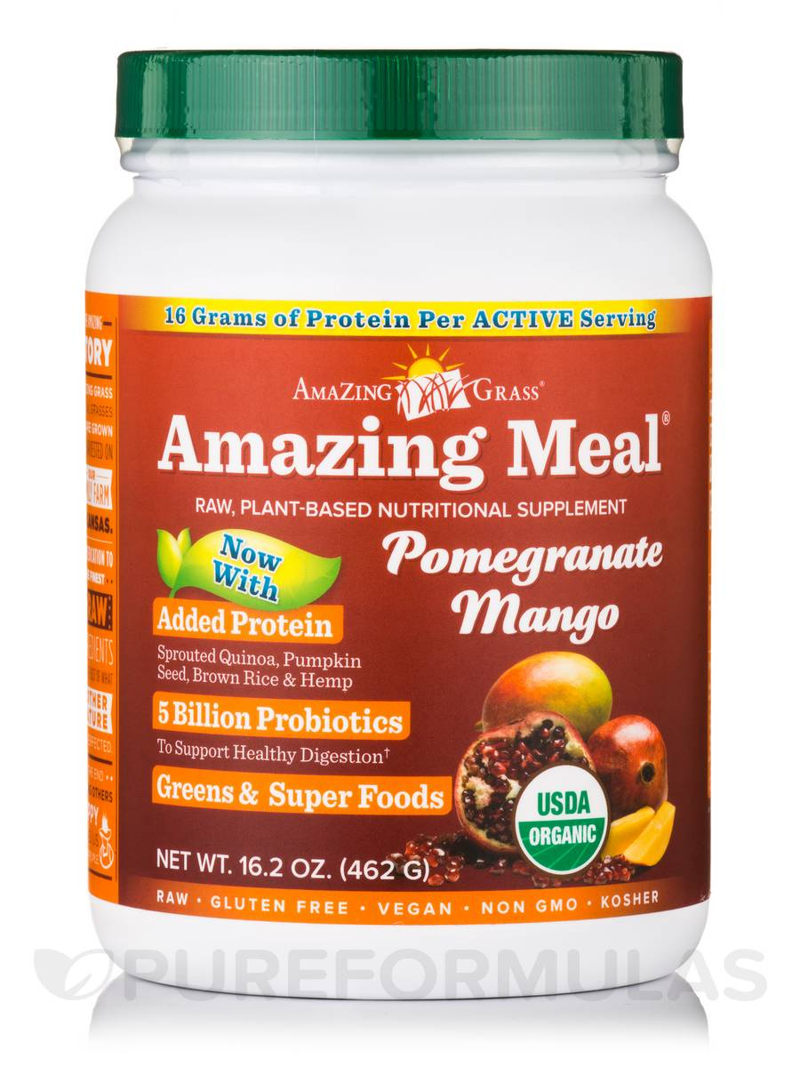 Amazing Meal® Pomegranate Mango Infusion Powder - 16.2 oz (462 Grams)