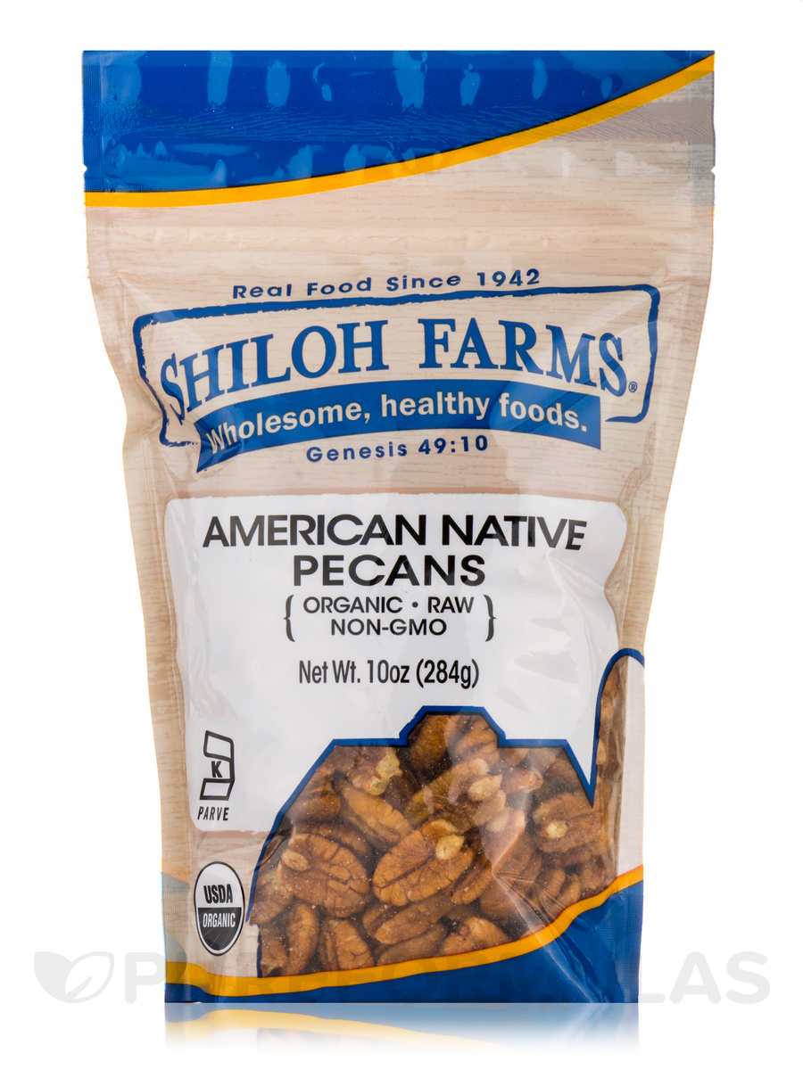 American Native Pecans, Organic - 10 oz (284 Grams)