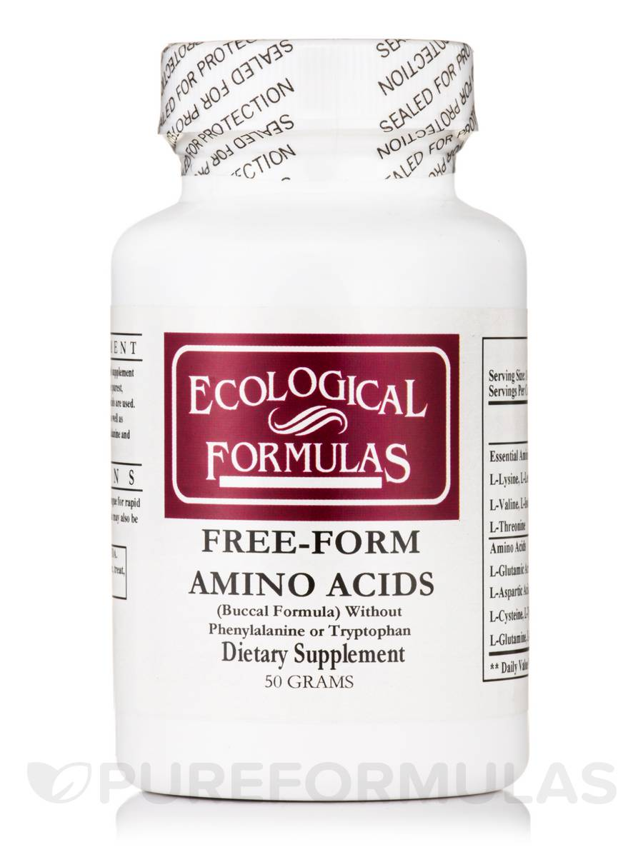 Free form amino acids