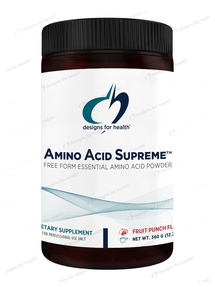 Amino Acid Supreme™ Powder, Natural Orange Flavor - 7.4 oz (210 Grams)