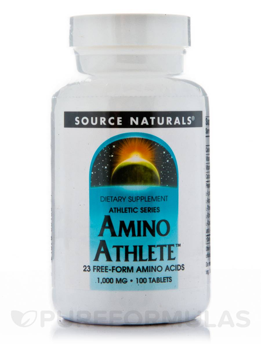 Amino Athlete 1000 mg - 100 Tablets