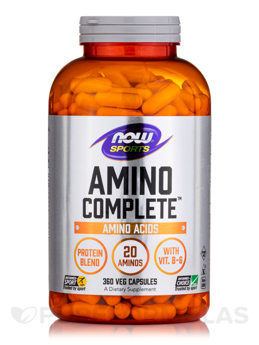 NOW® Sports - Amino Complete™ - 360 Capsules