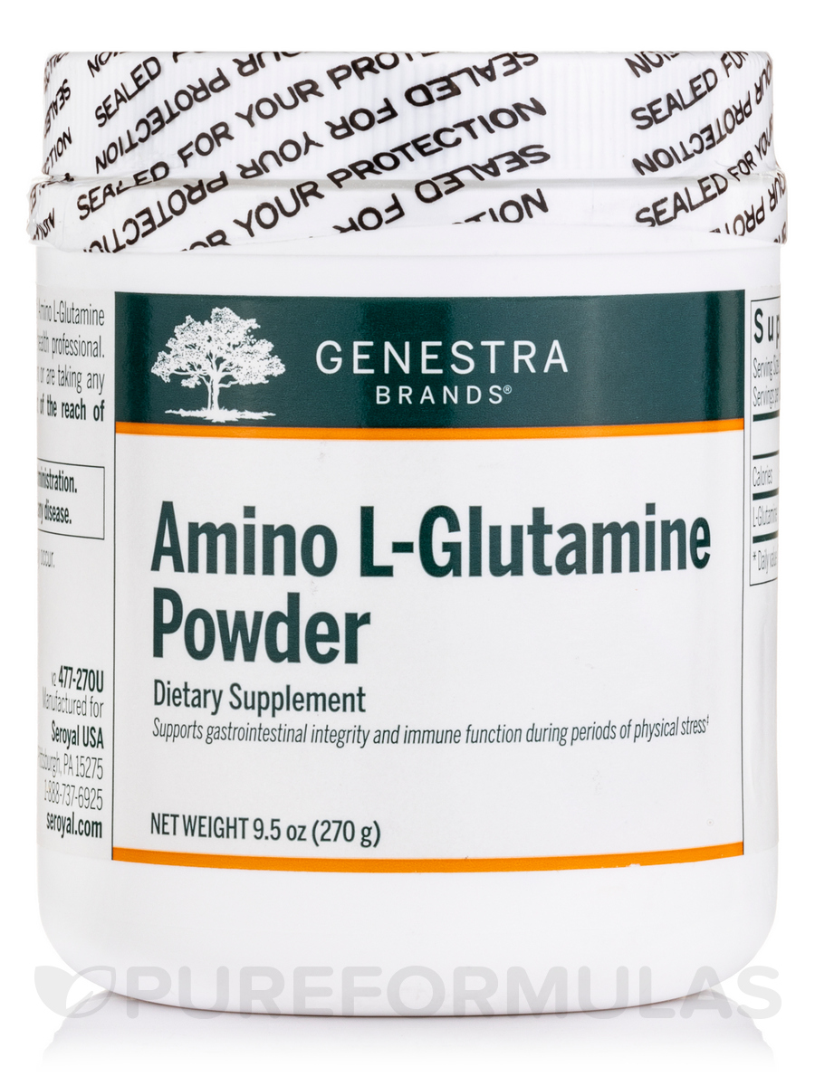 Amino L-Glutamine Powder - 9.5 oz (270 Grams)