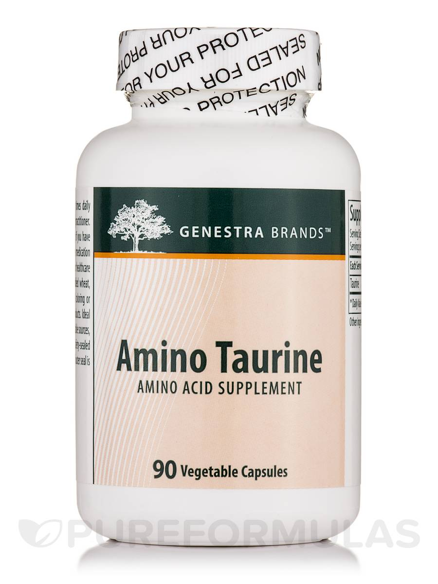Amino Taurine - 90 Vegetable Capsules