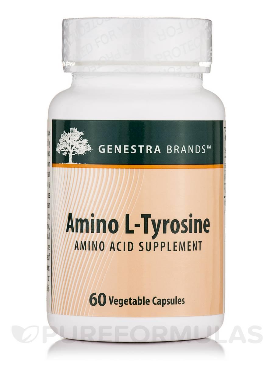 Amino L-Tyrosine - 60 Vegetable Capsules