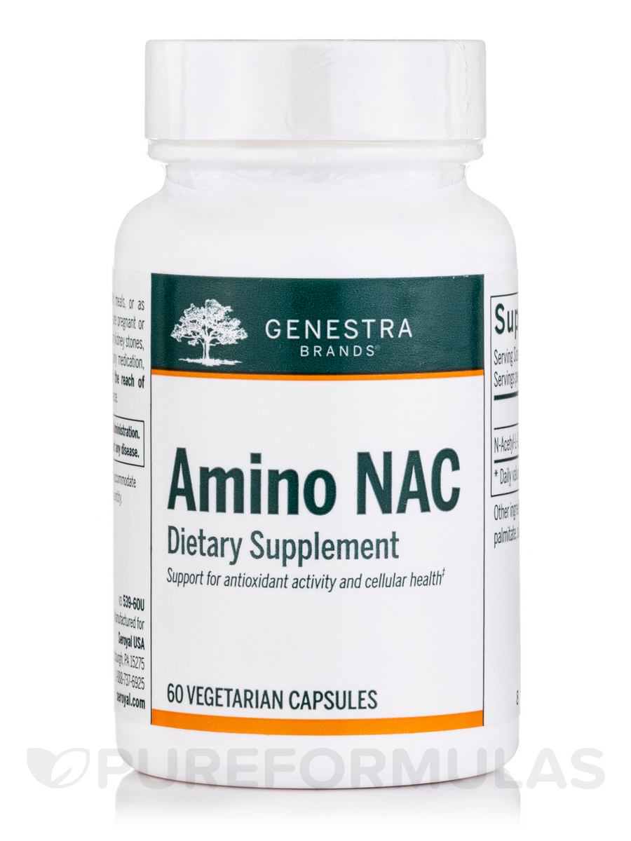 Amino NAC - 60 Vegetable Capsules
