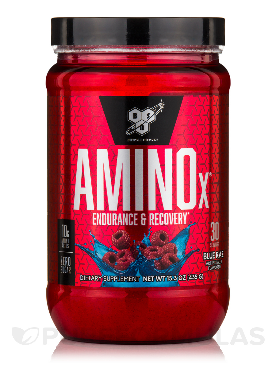 Amino X®, Blue Raspberry - 30 Servings (15.3 oz / 435 oz)