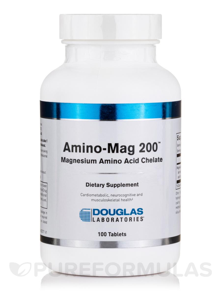 Amino-Mag 200 - 100 Tablets