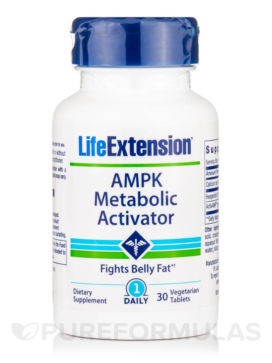 AMPK Metabolic Activator - 30 Vegetarian Tablets