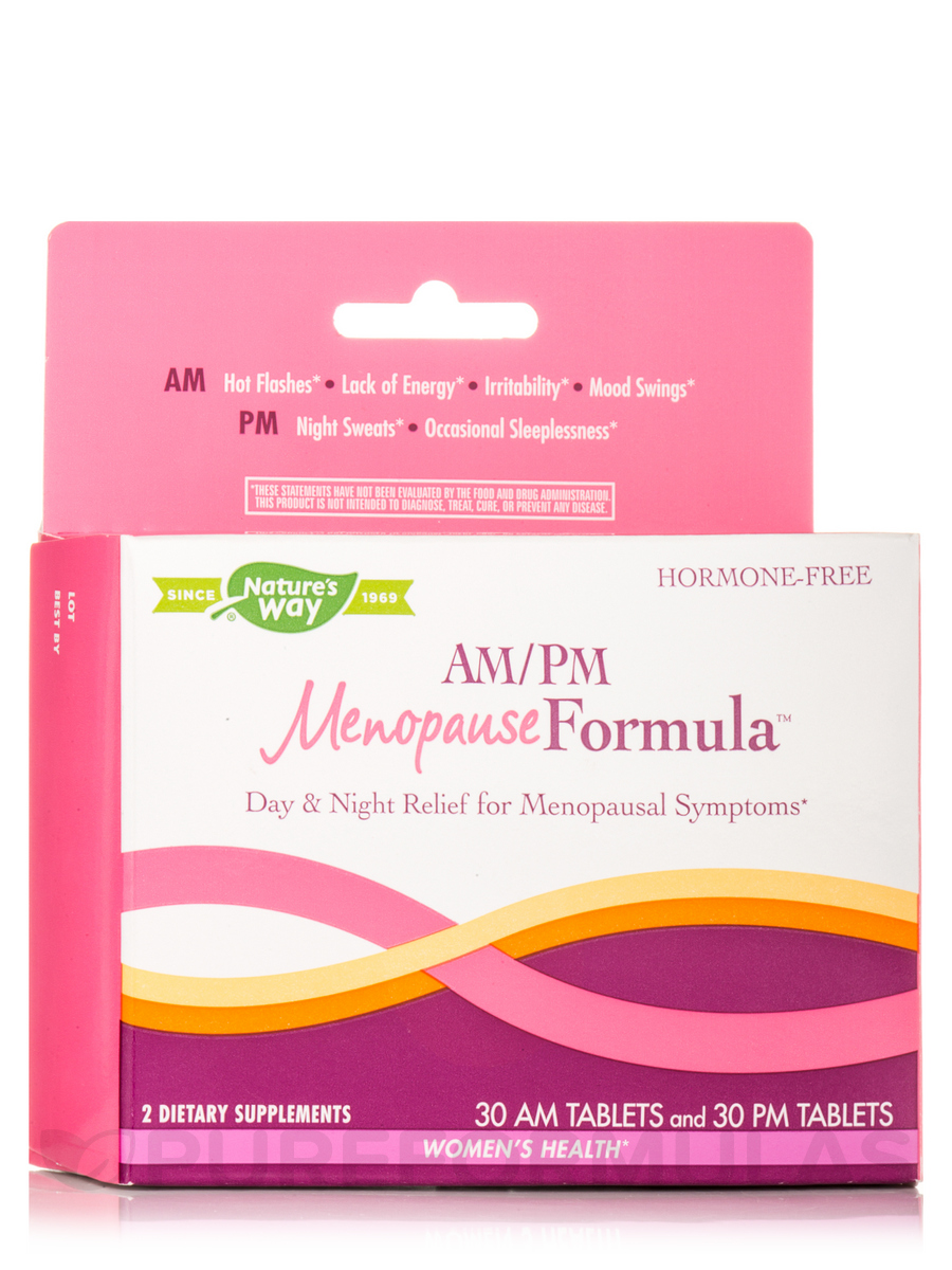 AM/PM Menopause Formula™ - 60 Tablets