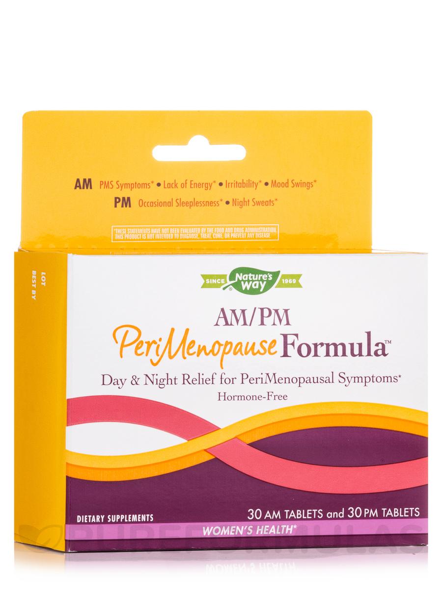 AM/PM PeriMenopause Formula™ - 60 Tablets